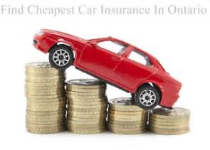 Cheap Car Insurance Ontario by Cheapest Car Insurance In Ontario Get Cheap Quotes