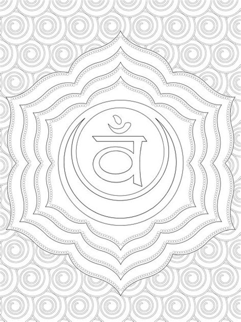 coloring chakras and coloring pages on pinterest