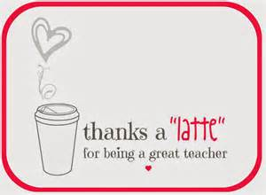 thanks a latte card template free printable a lo and behold