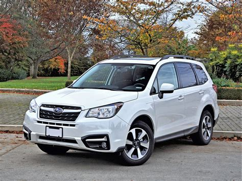 2017 subaru forester road 2017 subaru forester 2 5i touring road test review