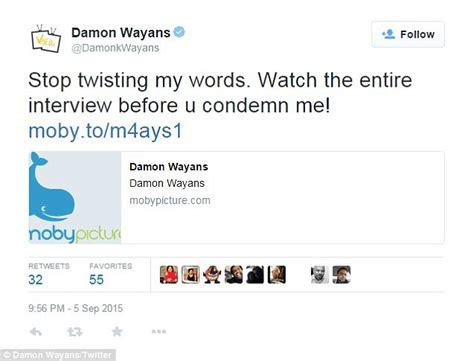 damon wayans twitter damon wayans defends himself after calling bill cosby s