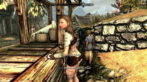 skyrim how to change npc hair in creation kit skyrim mod of the day npc clothes changer youtube