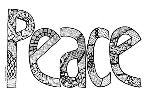 peace coloring pages peace sign coloring pages coloringsuite