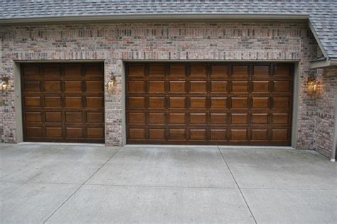 Brown Garage Door by Garage Door Brown Garage Door Colors