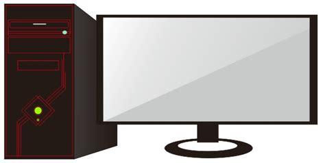 membuat lu led untuk cpu cara membuat komputer dan monitor dengan coreldraw