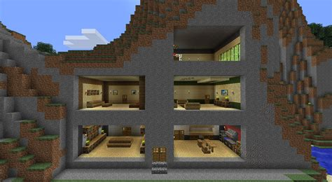 decoration maison minecraft interieur interieur de maison minecraft l impression 3d