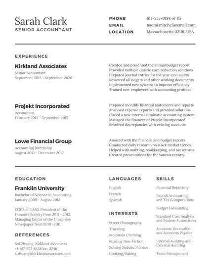 Customize 298 Professional Resume Templates Online Canva Traditional Resume Template