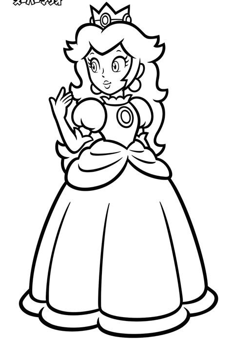 Nintendo Launches Coloring Pages With Characters Mario Character Coloring Pages 2