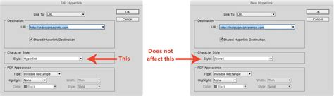 creating hyperlinks indesign understanding indesign s hyperlink formatting