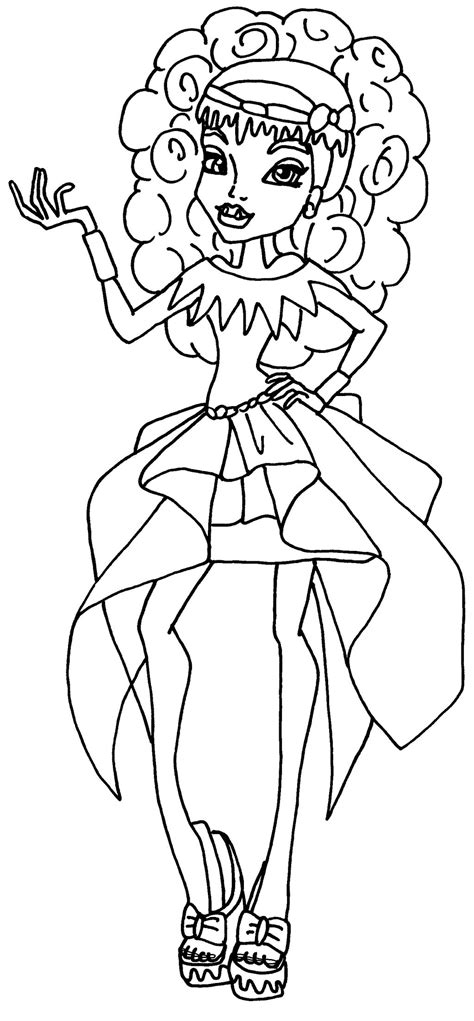 monster high coloring pages 13 wishes wisp monster high coloring pages 13 wishes wisp www pixshark