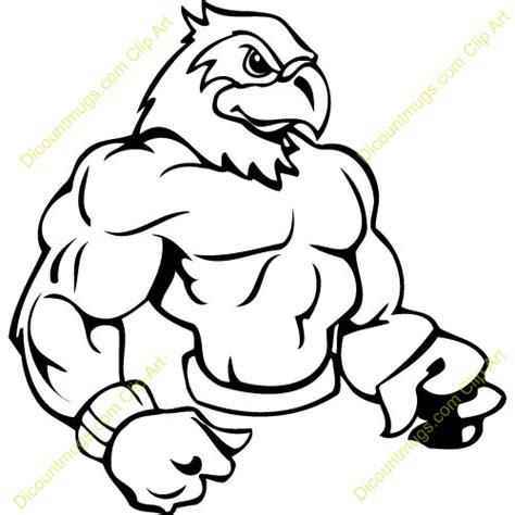mascot clipart image gallery hawk mascot clip