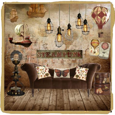 Rustic Decorations For Homes Steampunk Decor Polyvore