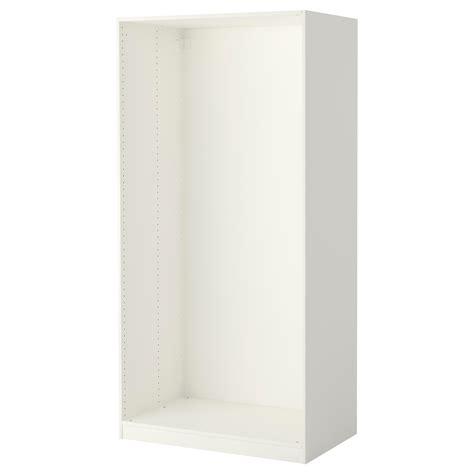 ikea pax wardrobe frame pax wardrobe frame white 100x58x201 cm ikea