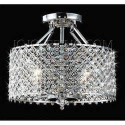 Chandelier Ceiling Lights Chrome 4 Light Ceiling Chandelier