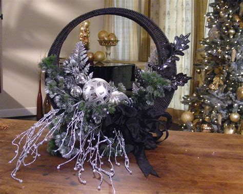 pinterest christmas made out of tulldecorating ideas front door basket hgtv
