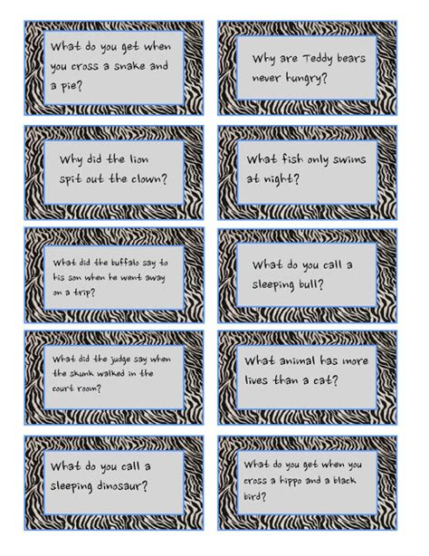 printable animal jokes redfly creations pack a laugh in your child s lunch