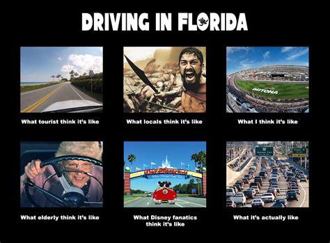 Florida Meme - driving in florida waterfront properties blog