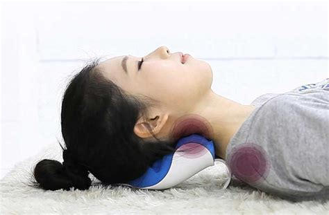 neck support brace pillow correction posture relief
