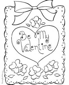 valentinesday coloring happy coloring page 017
