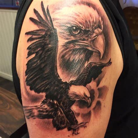 Eagle Tattoo Eagle And Wolf Tattoos 2