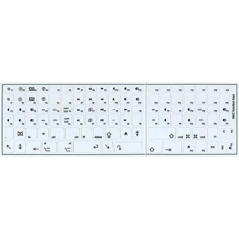 printable keyboard stickers mac mac function non tr