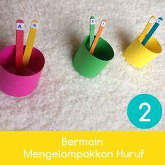 Bermain Dengan Huruf A Z belajar paud anak tk balita latihan menulis huruf kecil