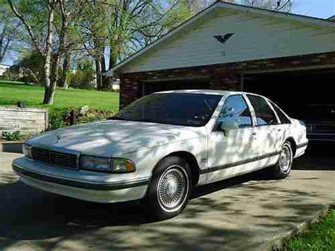 how petrol cars work 1993 chevrolet caprice classic free book repair manuals sell used 1993 chevrolet caprice classic ltz sedan 4 door 5 7l in washington pennsylvania