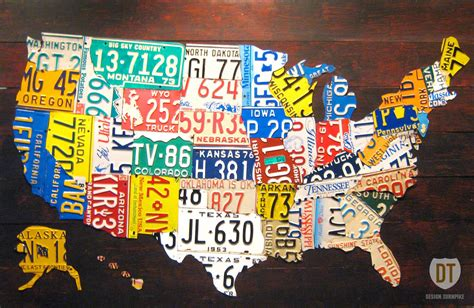 license plate map the tin snip times now selling 60 quot license plate map of