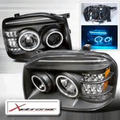 nissan frontier led light bar nissan frontier dual cc fl halo projector headlights