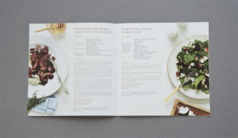 25 Really Beautiful Brochure Designs Templates For Inspiration Recipe Design Template