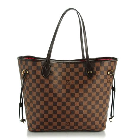 Tas Cantik Lv Ring Damier louis vuitton damier ebene neverfull mm 143114