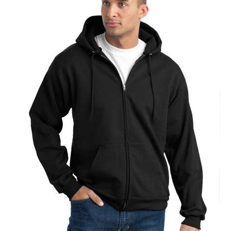 Hoodie Zipper Black black sleeves zipper hoodie