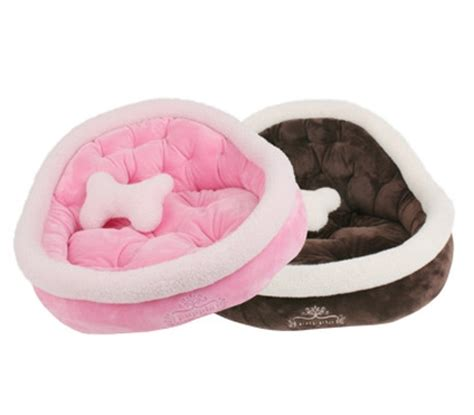 plush pink dog beds plush brown sofa pet beds