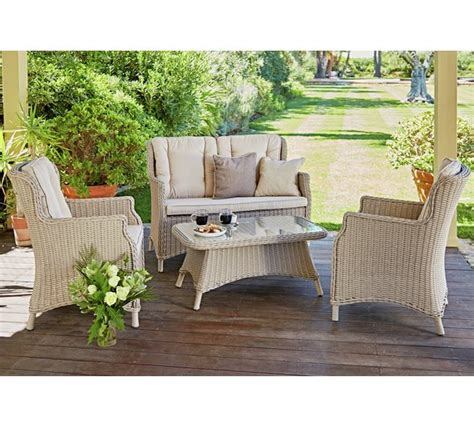 argos rattan sofa buy heart of house argenta rattan effect 4 seater sofa set