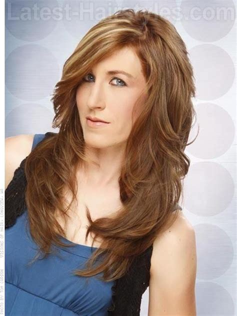 long haircut feathered up sides 17 best images about hair on pinterest long shag