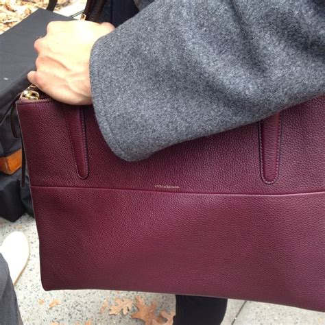 the coach borough bag gets ready for its up on the set of the fall 2013 caign shoot