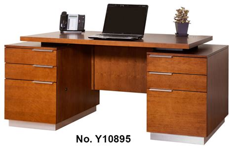 Cherry Home Office Furniture Monterey Cherry Office Furniture Executive Desk