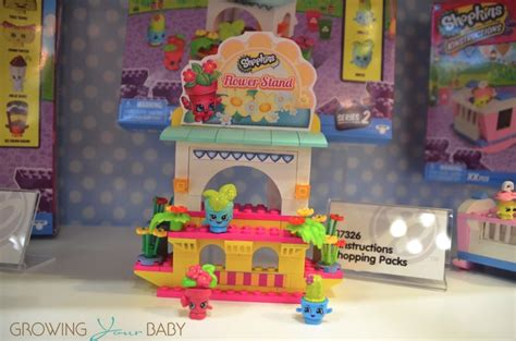 Shopkins Flower Stand shopkins kinstructions season 2 flower stand growing