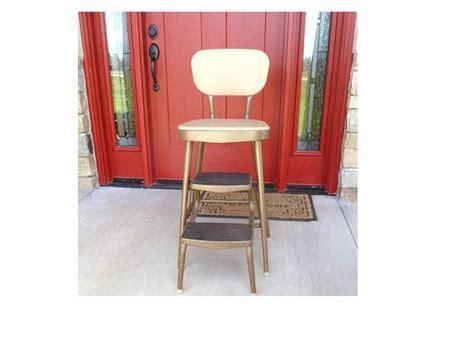 samsonite step stool vintage folding chair kitchen