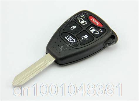 chrysler key fobs blade blank key remote shell keyless fob cover