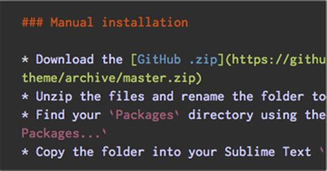sublime text 3 theme afterglow theme afterglow a minimal dark theme for sublime text 2