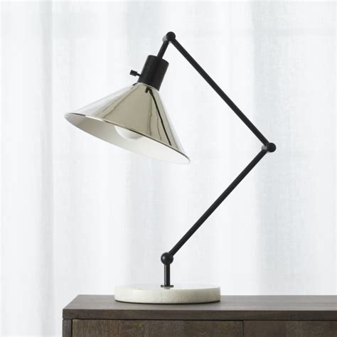 gris table lamp cb2