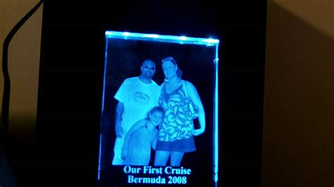 photo frame with led light rgb led glass picture frame lighting youtube