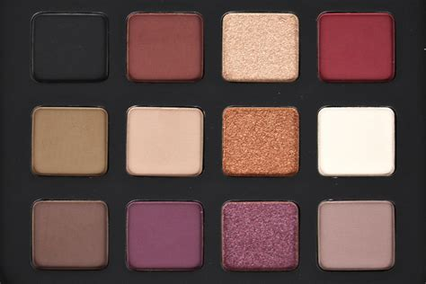 Make The Palette make up for lustrous shadow palette review giveaway