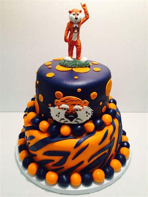 Auburn Finder De 25 Bedste Id 233 Er Inden For Auburn Cake P 229 Auburn Tigers Auburn