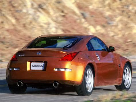 nissan orange oem nissan rear fascia 350z z33 z1 motorsports