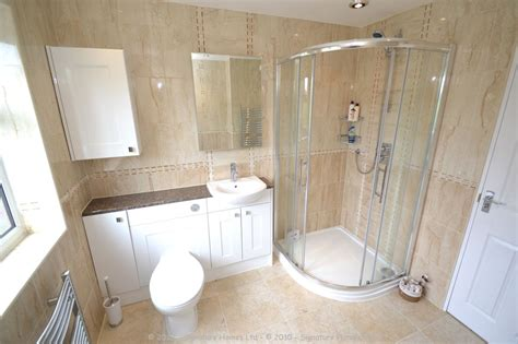complete fitted bathrooms fitted bathroom with knock through in banstead by our