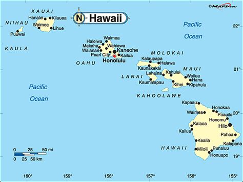 map hawaii hawaii political map by maps from maps world s largest map store