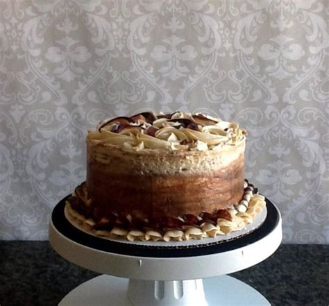 Chocolate Swirl Cake Decoration by Chocolate Caramel Swirl Cake Cakecentral