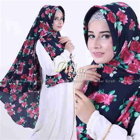 Kerudung Jilbab Syari Motif 4 4 jilbab syari pet antem paling laris di indonesia murahh